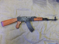 AK47, 7.62mm Assault Rifle - Prop Hire from The Props List