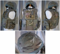 Body Armour And Helmet - Prop Hire from The Props List