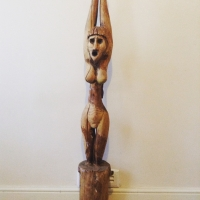 Old handcrafted women fetish statue - Prop Hire from The Props List