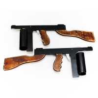 Bugsy Malone Splurge Guns - Prop Hire from The Props List